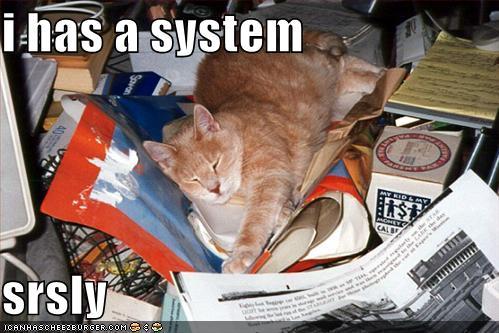 cat-on-messy-desk